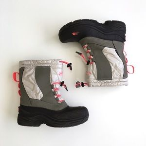 The North Face Rubber Drawstring Winter Snow Boots